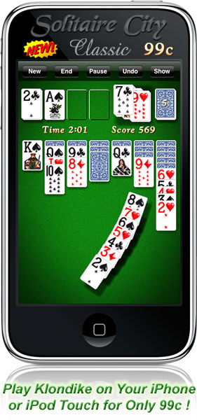 Solitaire City for iPhone